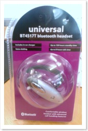 Bluetooth headset for under £5
