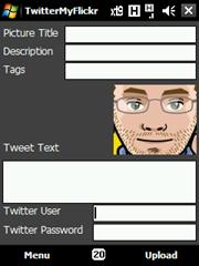 TwitterMyFlickrScreen